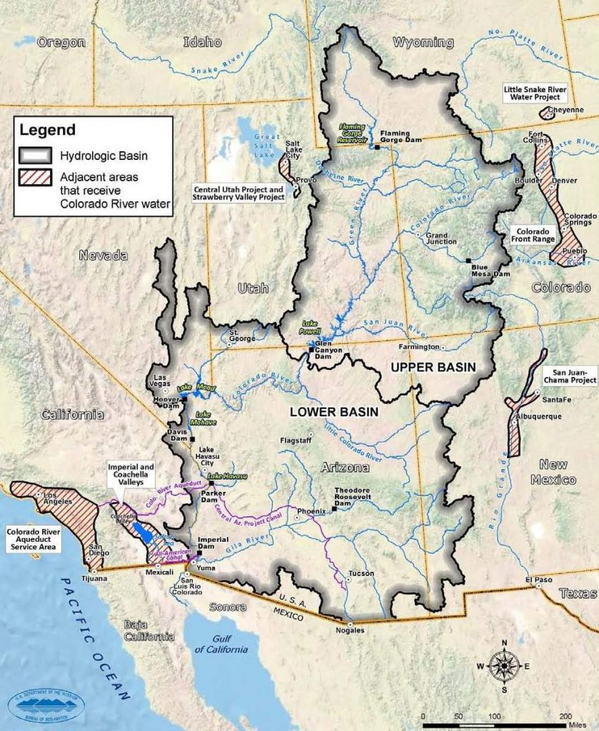Map Of Colorado River In Arizona.Educating Teachers About Water In Rural Arizona Water Ways Az